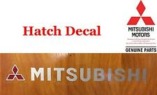 95 99 Mitsubishi Eclipse Factory Hatch Decal 420A 4g63 NEW OEM