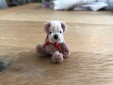 Tiny Hecho a Mano BADGER 1.5 pulgadas Casa de Muñecas en Miniatura Coleccionistas