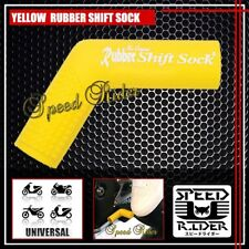 YELLOW RUBBER SHIFT SOCK COVER PROTECTOR BOOT SHOE SILICONE SHIFTER FOOT PEDAL