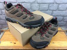 OEX MENS UK 8 EU 42 VERGE WATERPROOF BROWN BLACK RED WALKING SHOES RRP £100 C