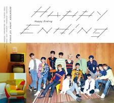 New SEVENTEEN Happy Ending First Limited Edition Type A CD Photobook Card Japan