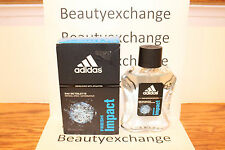 Adidas Fresh Impact Eau De Toilette Spray 3.4 oz Boxed