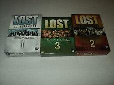 LOST LES DISPARUS SAISONS 1/2/3 COFFRETS 20 DVD (MANQUE 1 DVD)