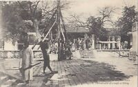 CHINA 1900 - 1910 UNUSED CARD 'THE COURT-YARD OF A TEMPLE OF PEKING' 116