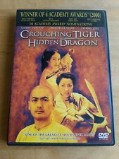 Crouching Tiger, Hidden Dragon (Dvd, 2001) Chinese, Eng, French audio
