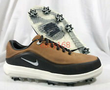 New Nike Air Zoom Precision Sz 12W Mens 46 Golf 866066 TW 12 Wide Leather Tan