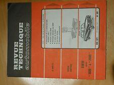 REVUE TECHNIQUE AUTOMOBILE N°301 MAI 1971 PEUGEOT 504  BMW 1600 à 2000