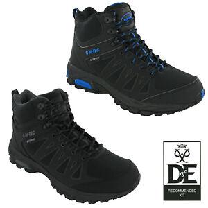 Hi-Tec Mens Walking Boots Raven Mid Waterproof Walking Hiking Trekking UK7-13