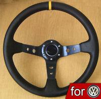 VOLANT DRIFT pour VW GOLF 1 2 3 4 GTI Polo Vento Corrado GT