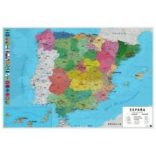 SPAIN - POLITICAL MAP POSTER 24x36 - 3625