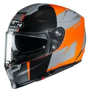 HJC Rpha 70 Terika MC7SF Motorcycle Full Face Helmet with Visor Size XS NEW