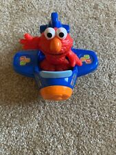Elmo with Airplane Sesame Street Plane and Action Figures Toy 2012