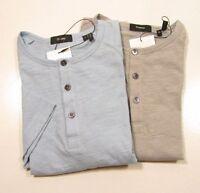"Theory Men's Short Sleeve ""Adrik"" Henley Shirt"