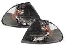 BMW 3 Series E46 Sedan Touring 1998-2000 Corner Lamp Turn Signal Smoked L+R Set