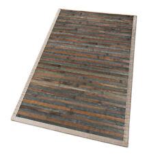 Tappeto bamboo legno grigio pietra cucina bagno tovaglia americana antiscivolo