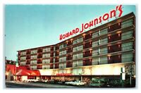 Postcard Howard Johnson's Motor Lodge & Restaurant, Atlantic City NJ M32