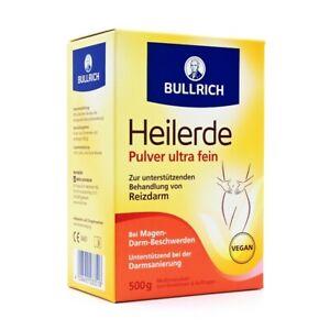 BULLRICHS Heilerde Pulv.z.Einnehmen u.Auftragen 500 g 06882366