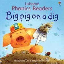 Usborne Book (new) Phonics Reader BIG PIG ON A DIG