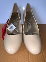 Dexflex Comfort Shoes Pumps Heels Karma Size 12 Brand New Pale Work Dressy