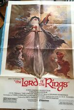 LORD OF THE RINGS - ONE-SHEET MOVIE POSTER FOR THE RALPH BAKSHI PRODUCTION