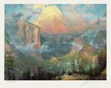 Signed Limited Edition Lithograph by THOMAS KINKADE – ARTIST'S POINT / YOSEMITE