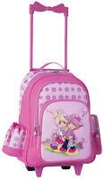 Kindertrolley Kinderkoffer Trolley Reisetrolley Mädchen rosa