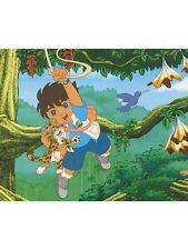 Nickelodeon Diego Swinging Thru the Jungle Wallpaper Border 71173