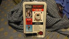 Rio Sport S355 128 MB MP3 Players FM Tuner NIP NOS