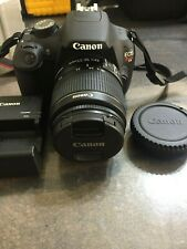 Mint Canon Eos Rebel T5 18.0Mp Digital Slr Camera W/Efs 18-55mm Macro, Bat,Char