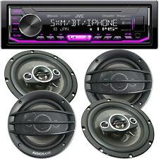 JVC KD-X360BTS Car Digital Media w/ Bluetooth Receiver + 4x Speakers 800W 6.5