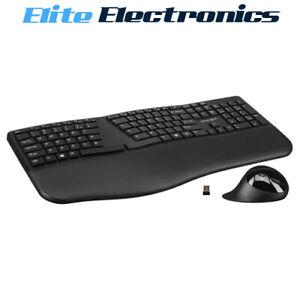 Kensington Pro Fit Ergonomic Wireless Keyboard & Mouse K75406US