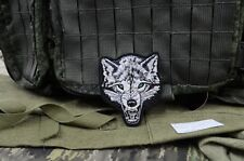 Wolf patch, Russian Tactical army morale military patch