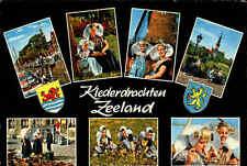 Kleder-Drachten Trachten in Zeeland Holland Mehrbildkarte Postkarte gebraucht