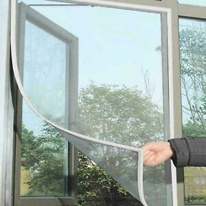 Window Screen Mesh Net White or Black Fly Insect Bug Mosquito Moth Door Netting