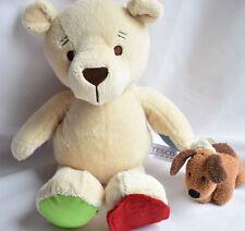 TESCO TEDDY BEAR HUGGING FRIEND SOFT TOY next day post