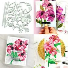 Flowers Metal Cutting Dies Stencil DIY Scrapbooking Photo Album Paper Card Craft