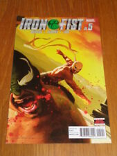IRON FIST #5 MARVEL COMICS SEPTEMBER 2017 NM (9.4)