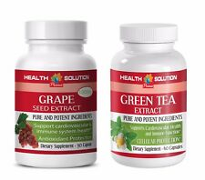 weight loss organic - GRAPE SEED EXTRACT - GREEN TEA COMBO 2B - grape seed and r