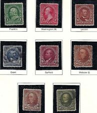 CHOICE! U.S. 1898 Bureau DL WM U.P.U. New Colors  1c-15c #279-284 WYSIWYG Lot