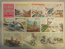 Flash Gordon Sunday Page by Mac Raboy from 4/24/1955 Half Page Size
