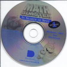 Davidson Math Blaster In Search of Spot Education Learning CD ROM PC Win/ Mac