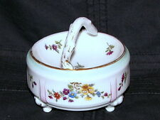 ANTIQUE CONTINENTAL ROYAL VIENNA DRESDEN PARIS PORCELAIN DISH TEA DRESSING TABLE