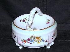 ANTIQUE CONTINENTAL ROYAL VIENNA DRESDEN PARIS PORCELAIN DISH TEA DRESSING TABLE
