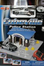 Maisto 1:64 Scale CUBEVILLE POLICE STATION
