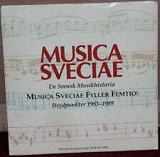 MUSICA SVECIAE PROMO CD MSCD-901: En Svensk Musikhistoria 1983-89 - 1989 SWEDEN