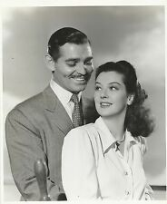 """ROSALIND RUSSELL & CLARK GABLE """"They Met in Bombay"""" Orig. Photo by C. BULL 1940"""