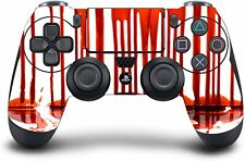 (Blood Drip) PS4 Modded Wireless Controller Exclusive Custom Design w/Rapid Fire