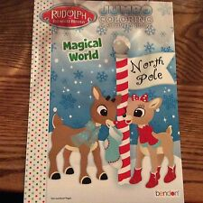 Rudolph the Red Nosed Reindeer Christmas Jumbo Coloring &Activity Book Clarice