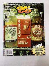 On The Go  Magazine # 12 RARE hip hop rap urban culture Chuck D Pharcyde Gza