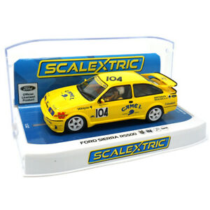 Scalextric C4155 Ford Sierra RS500 - Came 1st 1/32 Slot Car